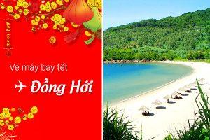 Vé máy bay tết Sài Gòn Đồng Hới giá rẻ 2018