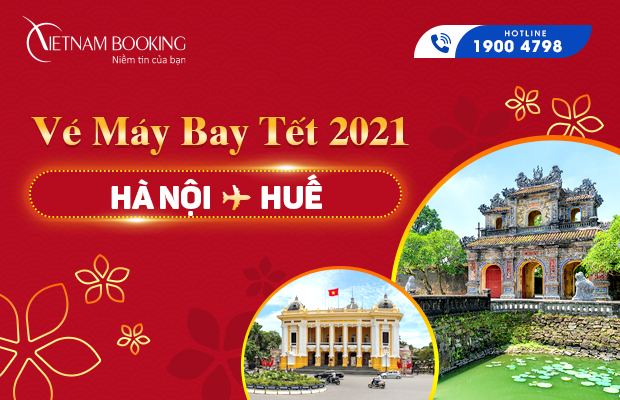 ve may bay tet ha noi hue
