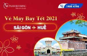 Vé máy bay Tết 2021 Sài Gòn đi Huế