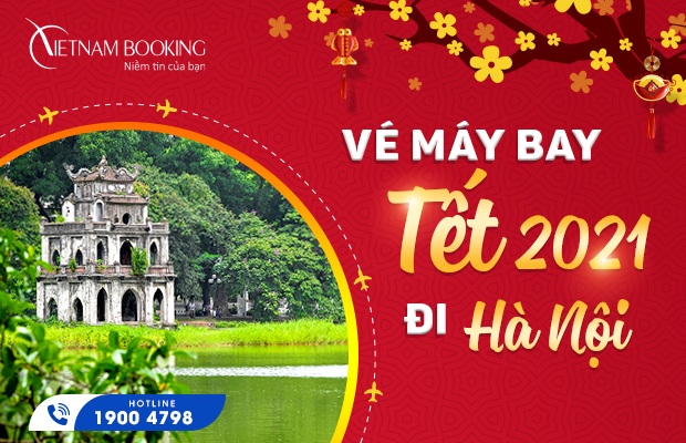 ve may bay tet di ha noi
