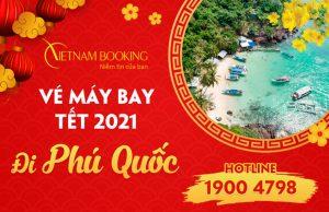 vé máy bay Tết 2021 đi Phú Quốc