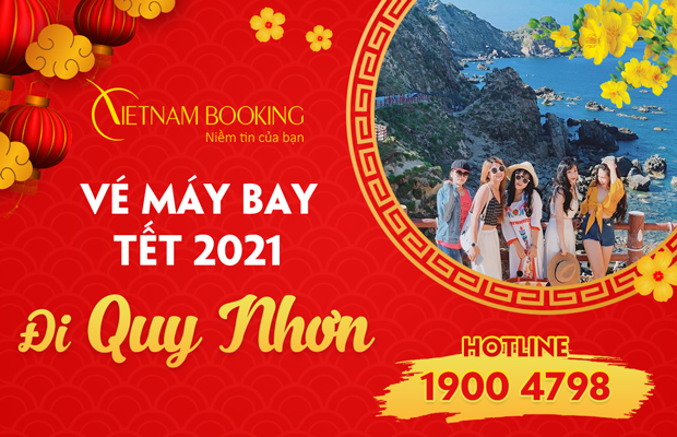 ve may bay tet di quy nhon