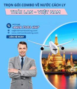 Combo trọn gói về nước từ Thái Lan về Việt Nam