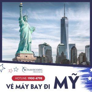 Cập nhật giá vé máy bay từ Việt Nam sang Mỹ mới nhất 2021
