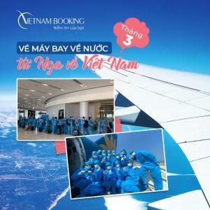 Những thông tin mới nhất về lịch bay từ Nga về Việt Nam
