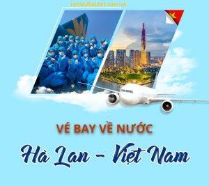 Các hãng hàng không bay từ Hà Lan về Việt Nam